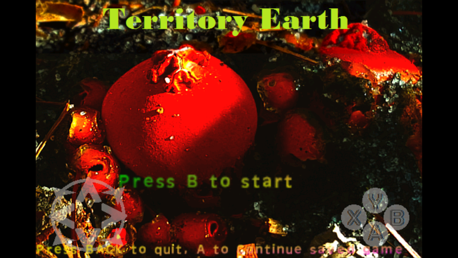 Territory Earth- screenshot