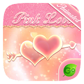 Tải Pink Love GO Keyboard Animated Theme APK
