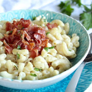 Microwaved Horseradish-Bacon Mac and Cheddar Cheese for One Recipe