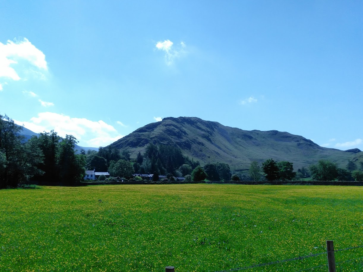 Howtown on the shores of Ullswater