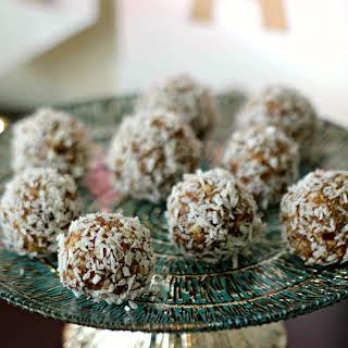 Raw Vegan Date Balls.