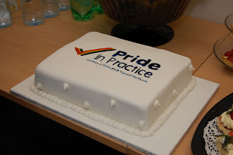 Photo: Every good launch needs a cake