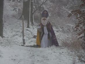 Photo: Begegnung mit dem Nikolaus
