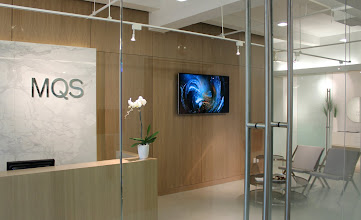 Photo: Generation 244 permanently installed in a corporate reception in Manhattan.