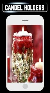 DIY Candle Holder Making Ideas Home Designs Steps - náhled