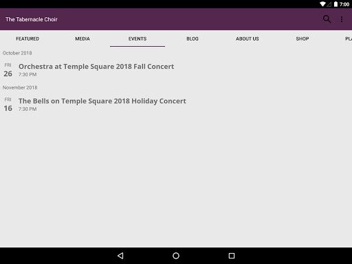The Tabernacle Choir screenshot 8