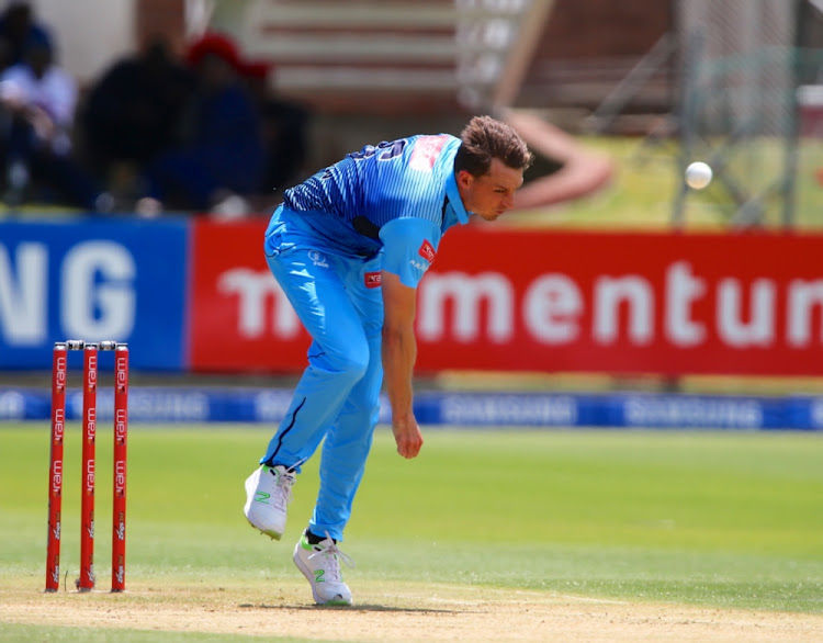 Dale Steyn of Multiply Titans during the RAM SLAM T20 Challenge match between Multiply Titans and VKB Knights at St George's Park on December 03, 2017 in Port Elizabeth.
