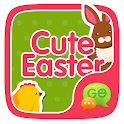 (FREE)GO SMS CUTE EASTER THEME icon