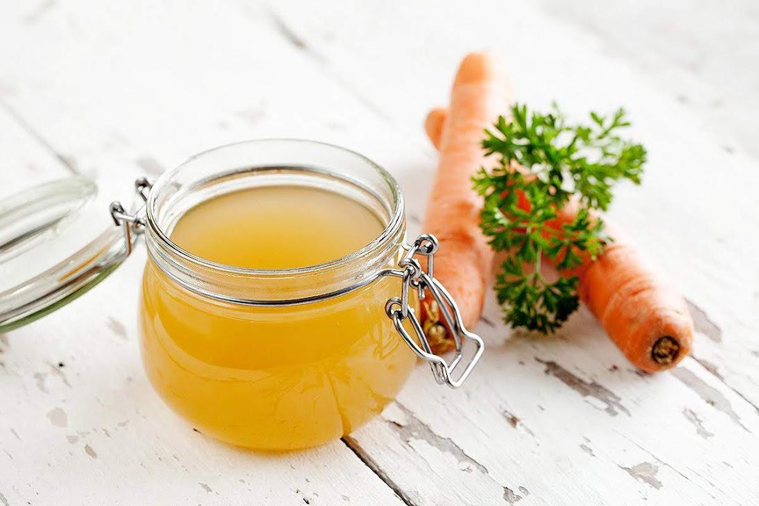 Bí quyết nấu nước dùng rau củ cho ngày chay