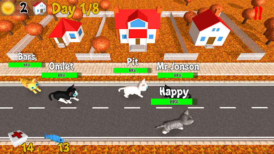 Hungry Cats Screenshot