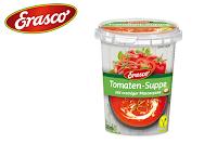 Angebot für Tomaten-Suppe im Supermarkt
