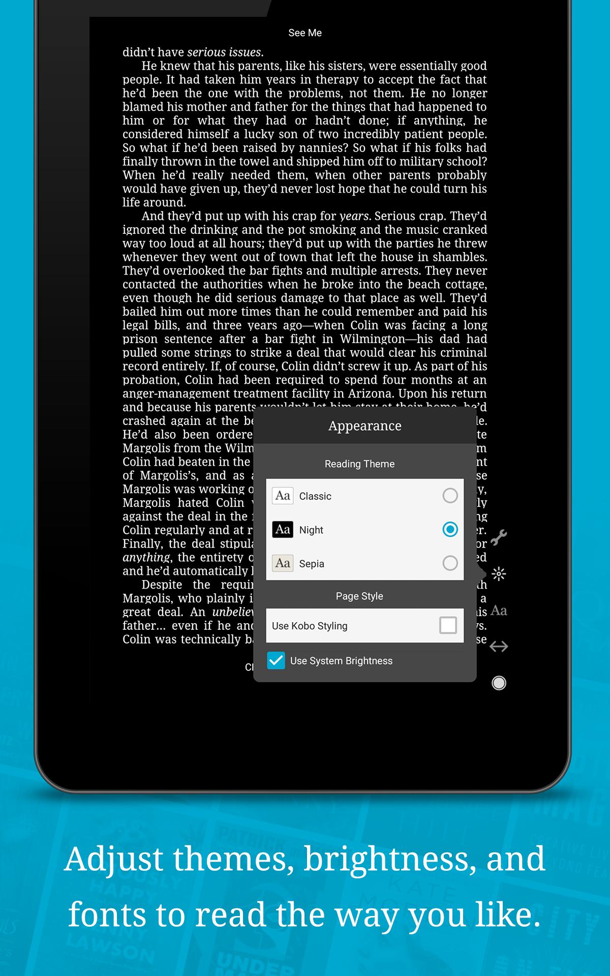 Kobo Books - Reading App screenshot #12