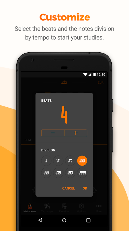 Metronome Cifra Club- screenshot