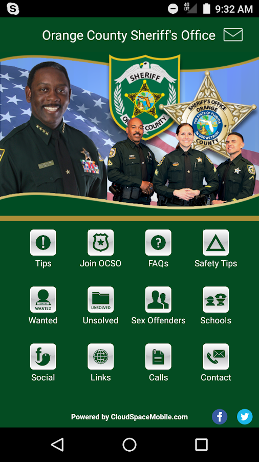 Orange County Sheriff's Office- screenshot