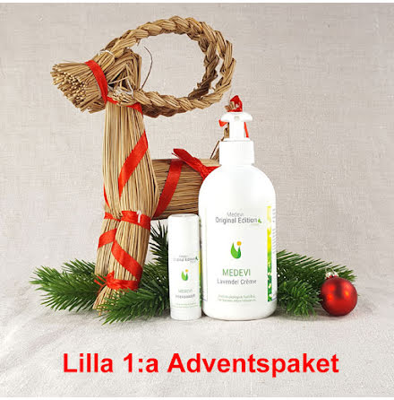 Lilla 1:a adventspaketet: Handpaket Lavendelcrème och Intensivstift