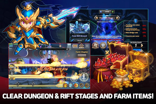 Raid the Dungeon : Idle RPG Heroes AFK or Tap Tap 1.5.3 screenshots 2