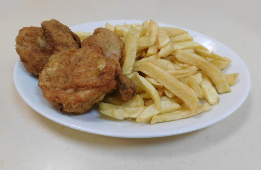 3 Pieces of Chicken & Chips