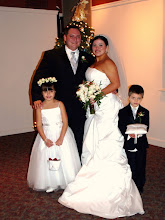 Photo: Larkin's on the River 12/09- Blendend family ceremony Married with their children.  ~ www.WeddingWoman.net ~