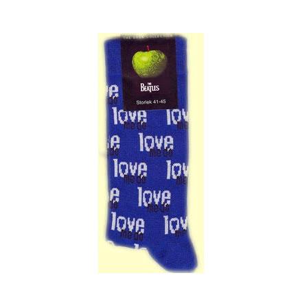 Beatles - Strumpor - Love Me - Stl 41-45