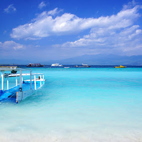 Damainya pantaiku by Gery Arsuma - Landscapes Beaches ( gili trawangan lombok )
