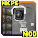 Security Camera for MCPE - Minecraft Mod icon