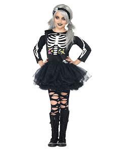 Dräkt, Skelettklänning godis