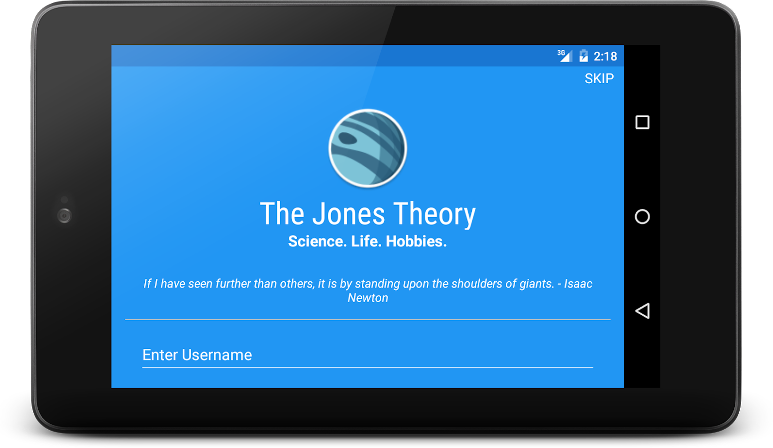 The Jones Theory- screenshot