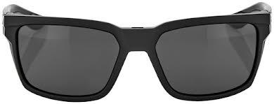 100% Daze Sunglasses: Soft Tact Black Frame with Smoke Lens alternate image 1
