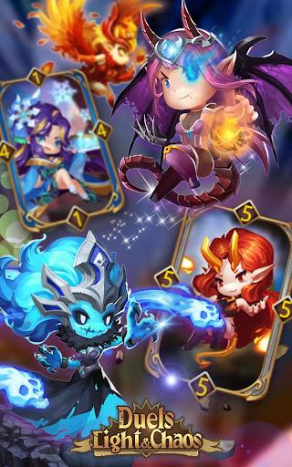 Code Triche Light & Chaos Duels:PvP Card Battles(CCG/TCG) mod apk screenshots 6