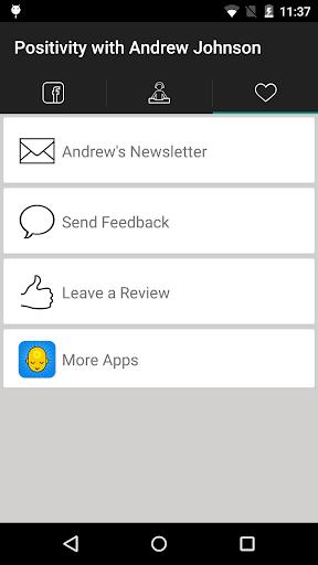 Positivity with Andrew Johnson screenshot