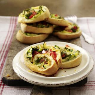 Vegetable Stromboli.