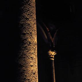 Colums by Antonio Prodon - Buildings & Architecture Public & Historical ( history, building, colums, stone, castle, historical, sforzesco, italy, milano )