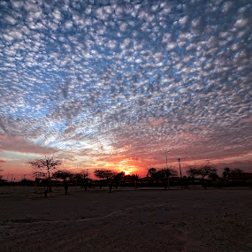 by Tyrone de Asis - Landscapes Weather ( clouds, awali, bahrain sunset, tary, landscape )