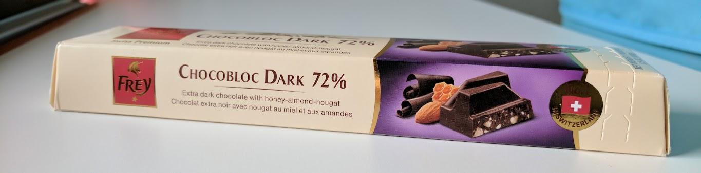 72% frey bar