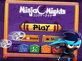 Screenshot of Ninja Nights - Endless Runner