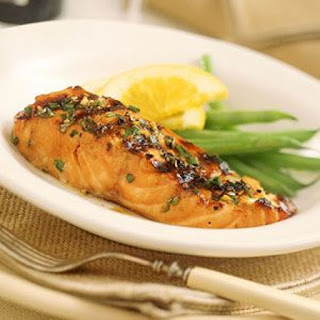 Grilled Bourbon Salmon in Orange Juice #SeafoodRecipesWorldwide