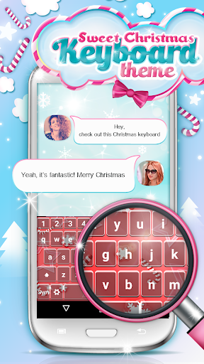 Sweet Christmas Keyboard Theme