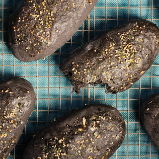 Squid Ink Baguettes Recipe