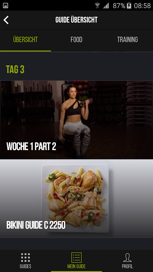 epply fit and food – Screenshot