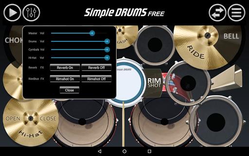 Simple Drums Free 2.3.1 screenshots 5