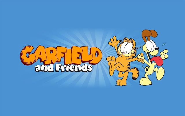 Garfield Cartoon Theme & New Tab