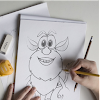 How to draw Booba