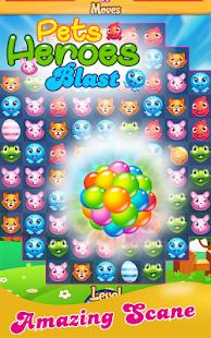 Pets Heroes Blast - náhled