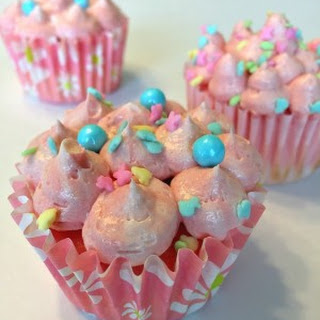 Blush Pink Cupcakes.
