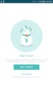 Hopster: Cash back savings, rebates, and coupons- screenshot thumbnail