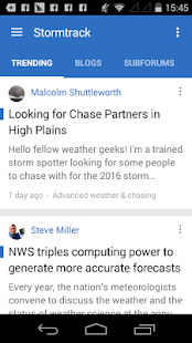 Stormtrack- screenshot thumbnail
