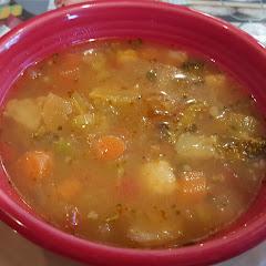 GF minestrone soup