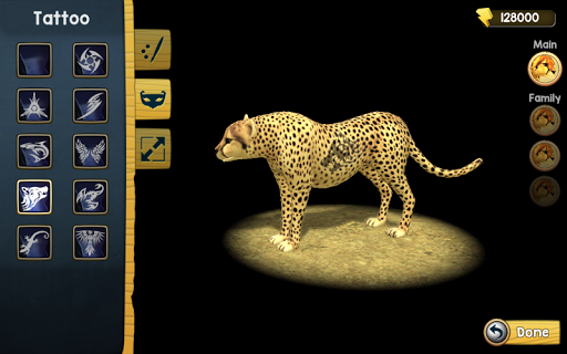 Wild Cheetah Sim 3D 2.0 screenshots 3