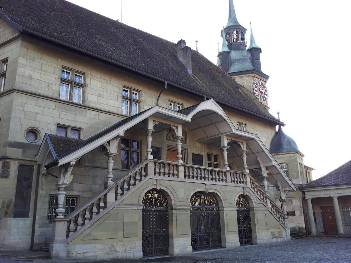 Hôtel de ville à Fribourg