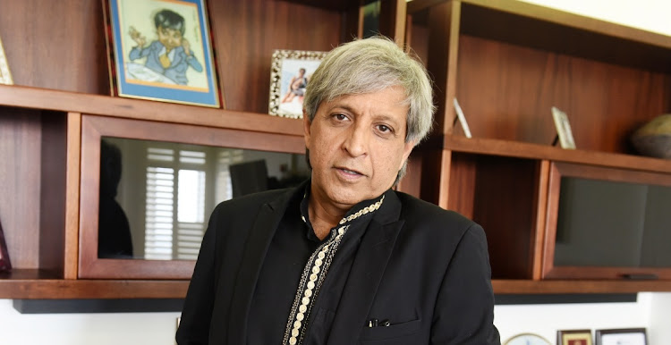 Former Wits university vice-chancellor Adam Habib recently took up the position of director of the University of London's School of African and Oriental Studies. Picture: FREDDY MAVUNDA